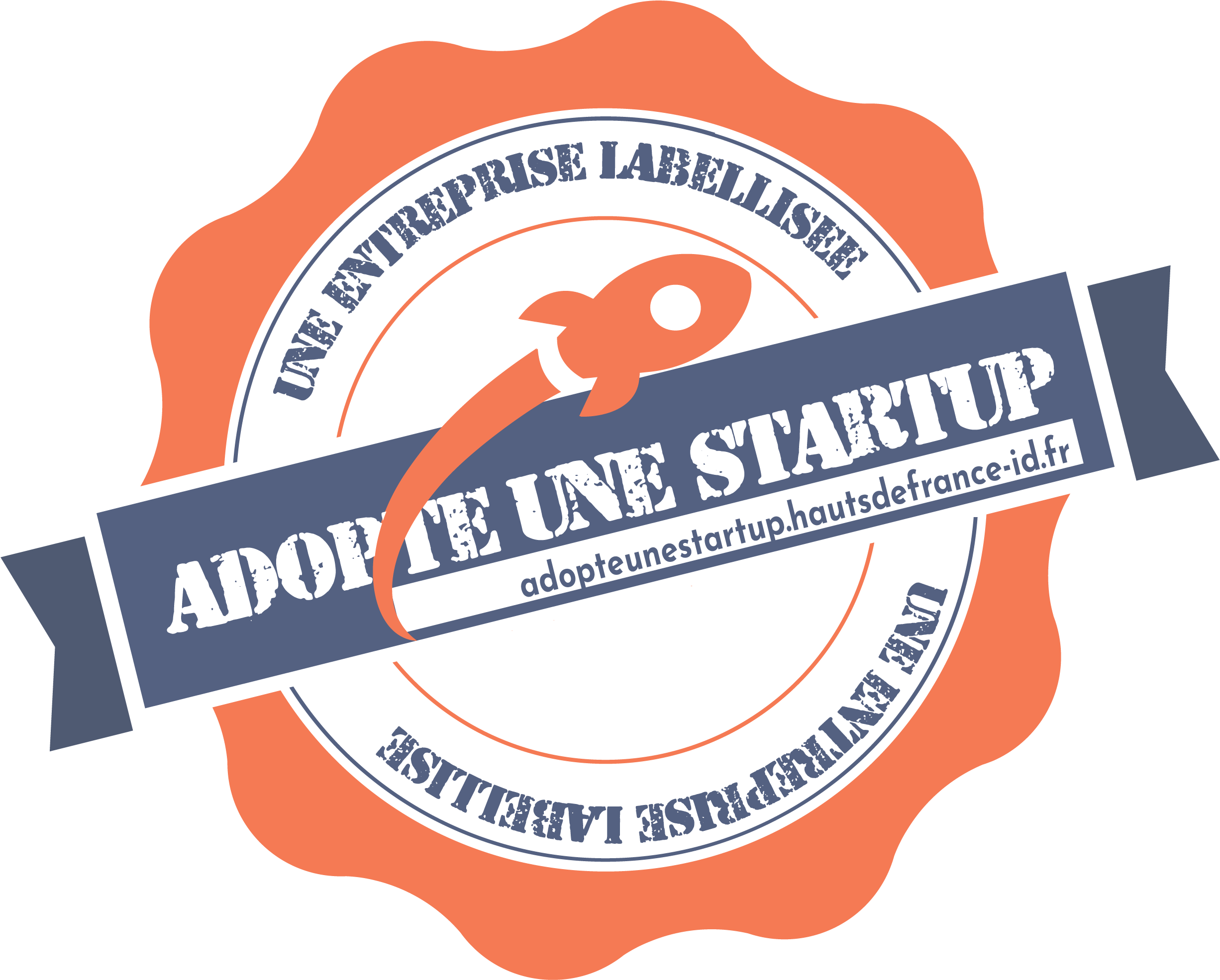 logo label adopte une startup